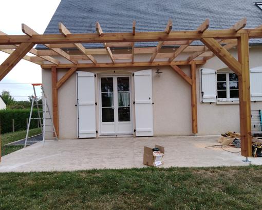 Construction d'une extension bois par Atoutoit près de Tours (37)